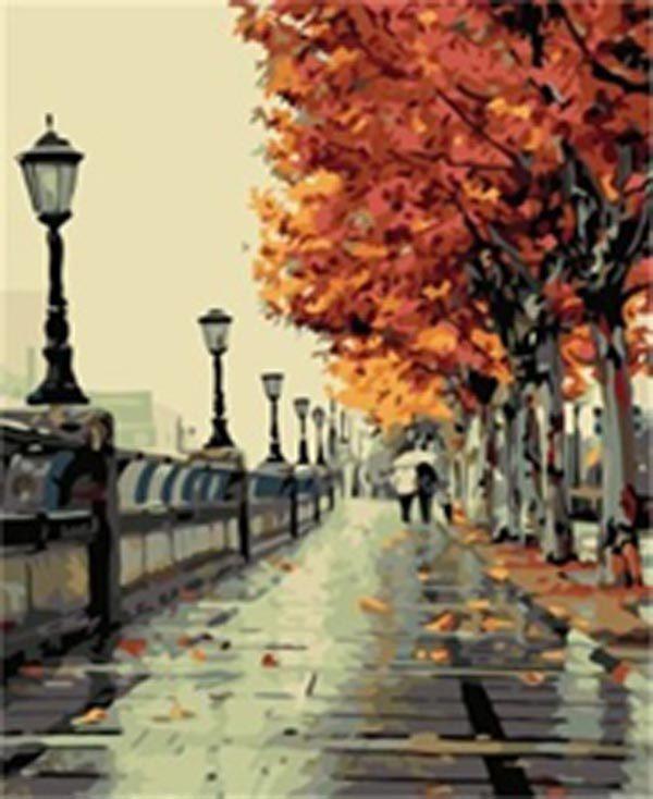 Schilderen op Nummer – Parijs
