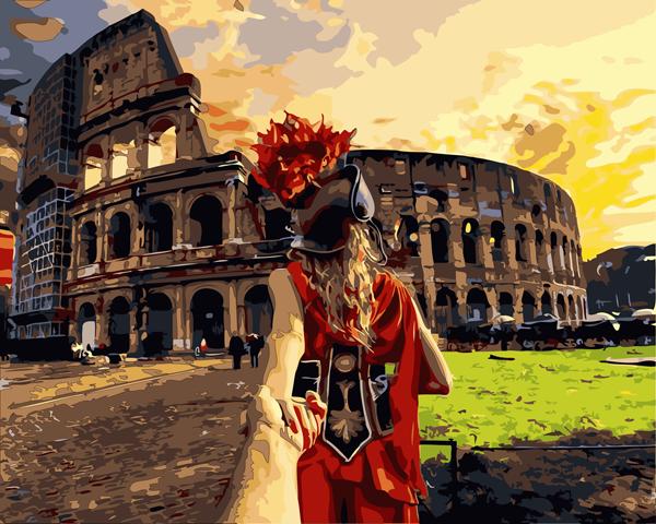 Schilderen op Nummer – Rome