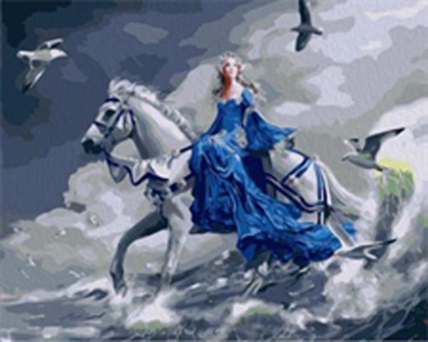 Schilderen op Nummer – Wit Paard