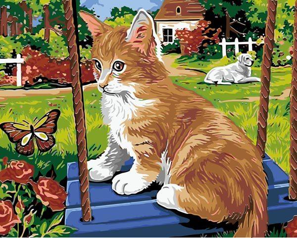 Schilderen op Nummer – Kat en Hond